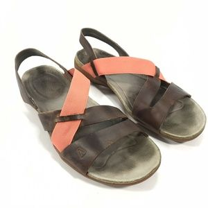 Keen Dauntless Strappy leather ankle strap sandals